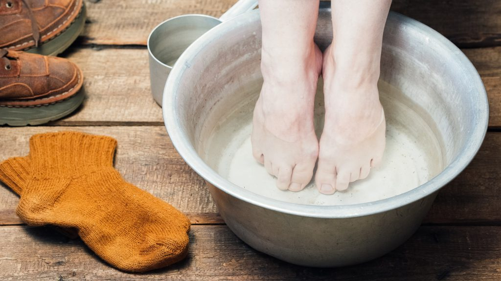 Riechen Schweißige Stinkfüße 10 Tipps