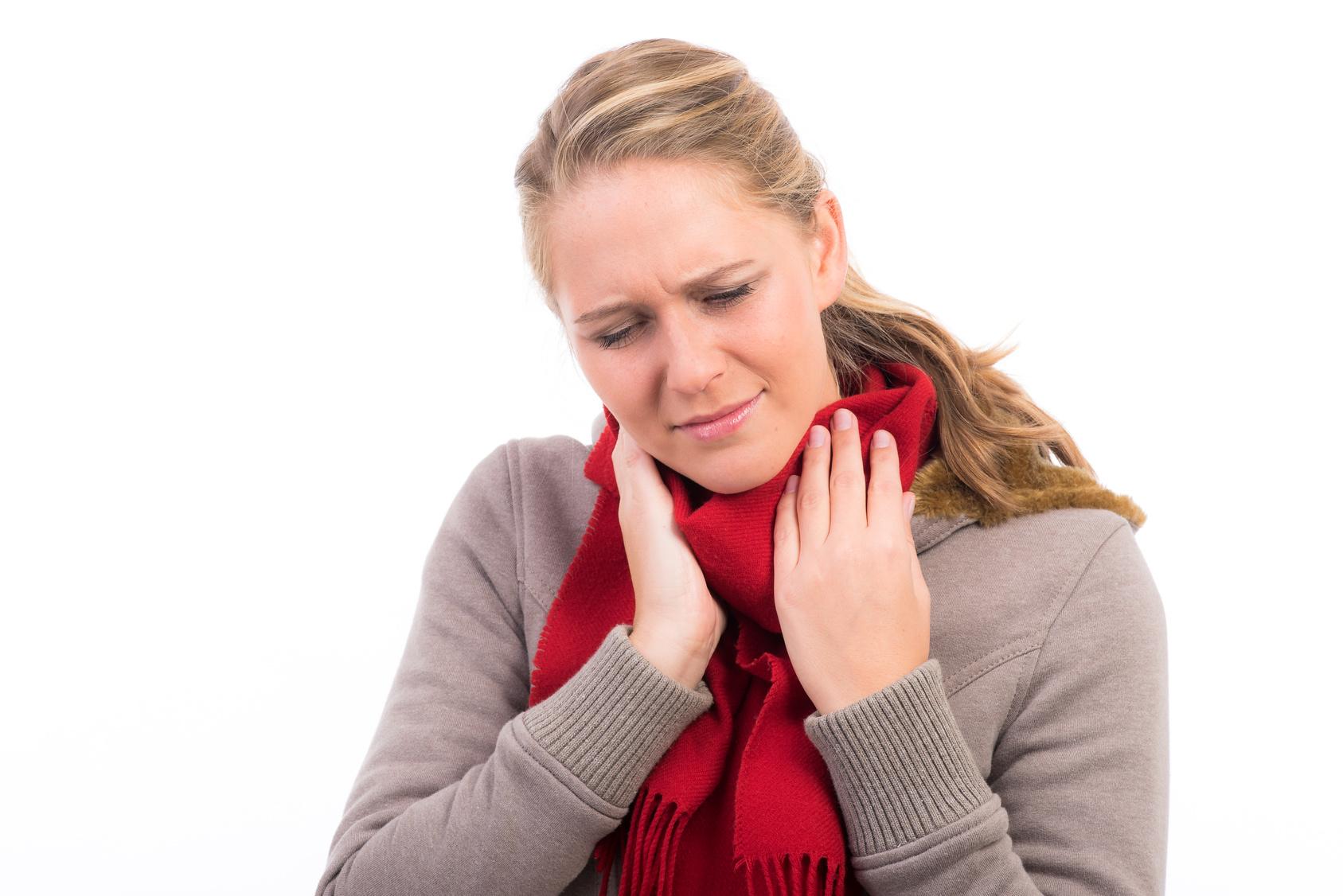 Ständige Halsschmerzen