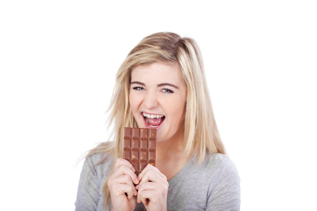 heihunger auf schokolade