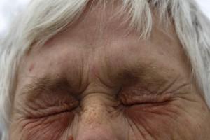 Lidkrampf-Auge
