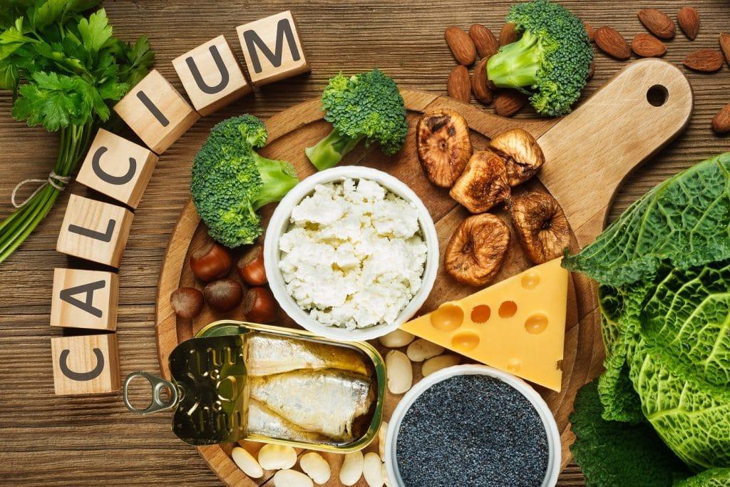 viel calcium im körper