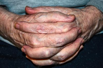 Hände-Zittern