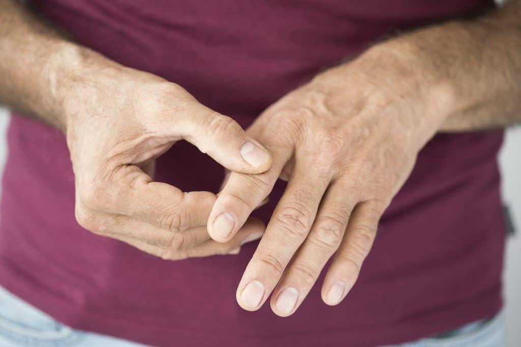 Schmerzen Fingergelenk