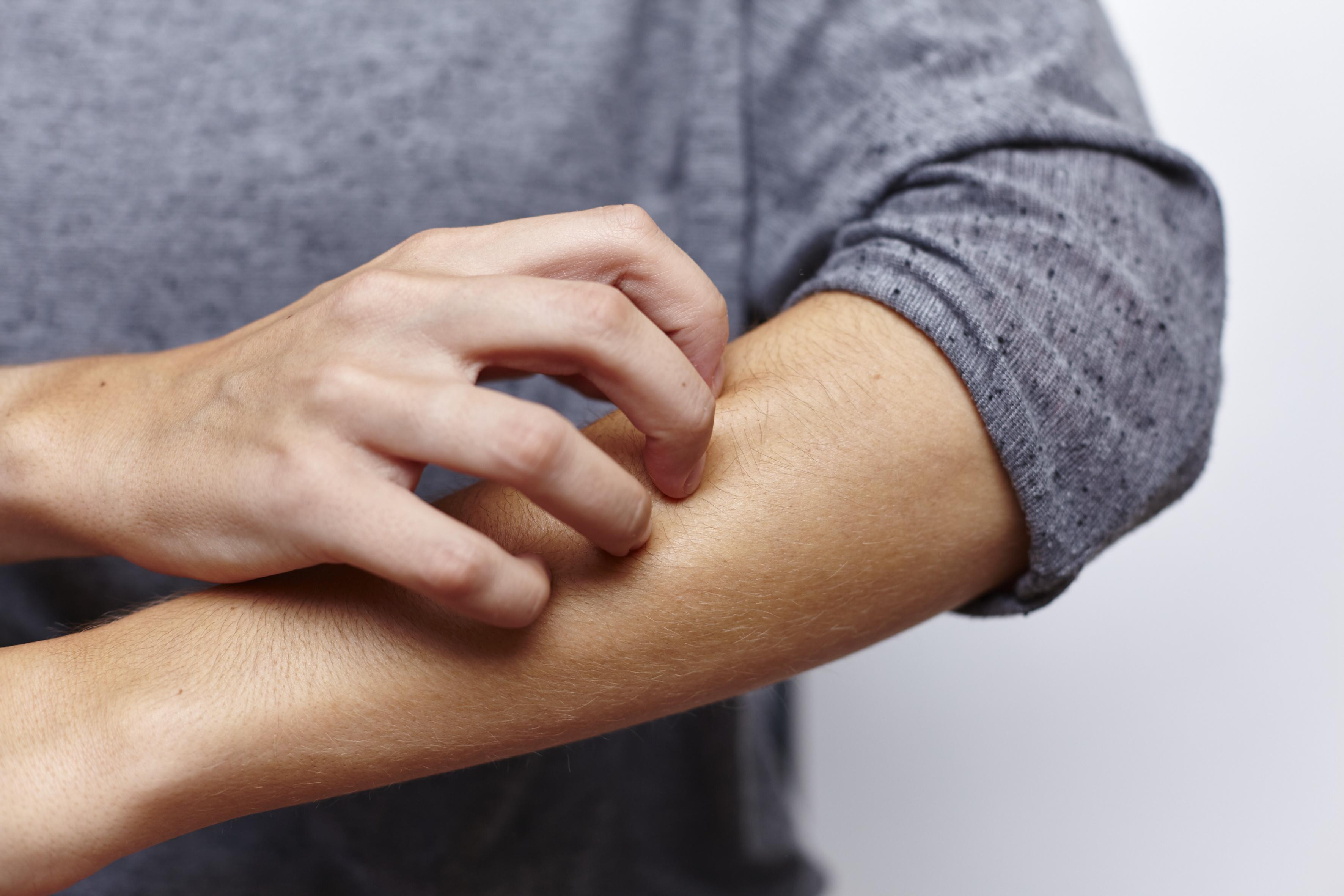 Armbeuge lymphknoten Erkennen ob