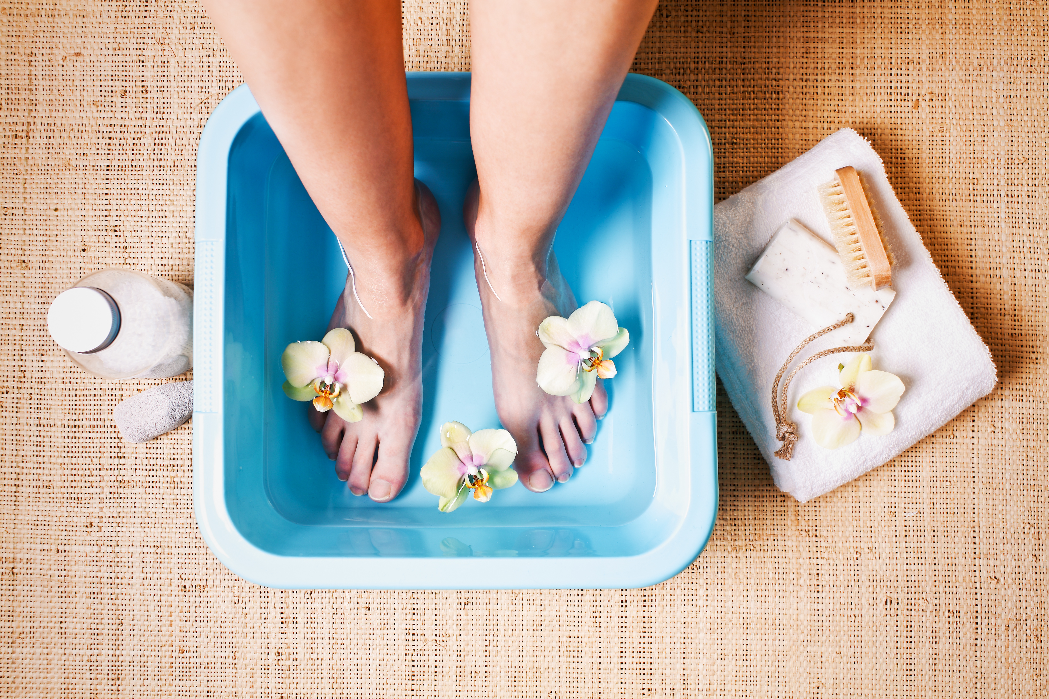 Fußbad Bei Erkältung Mit Salz