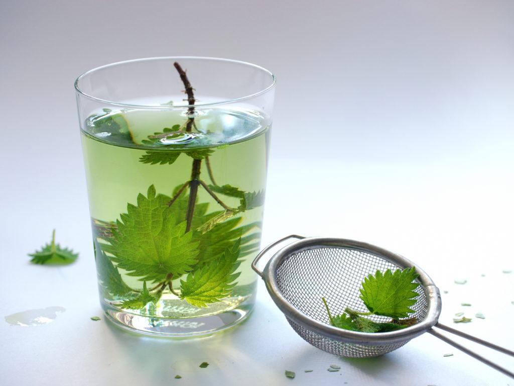 Ob als Tee oder im Salat: Brennnesseln enthalten viel Eisen und können einen Mangel auf natürliche und schonende Weise ausgleichen. (Bild: nelje/fotolia.com)