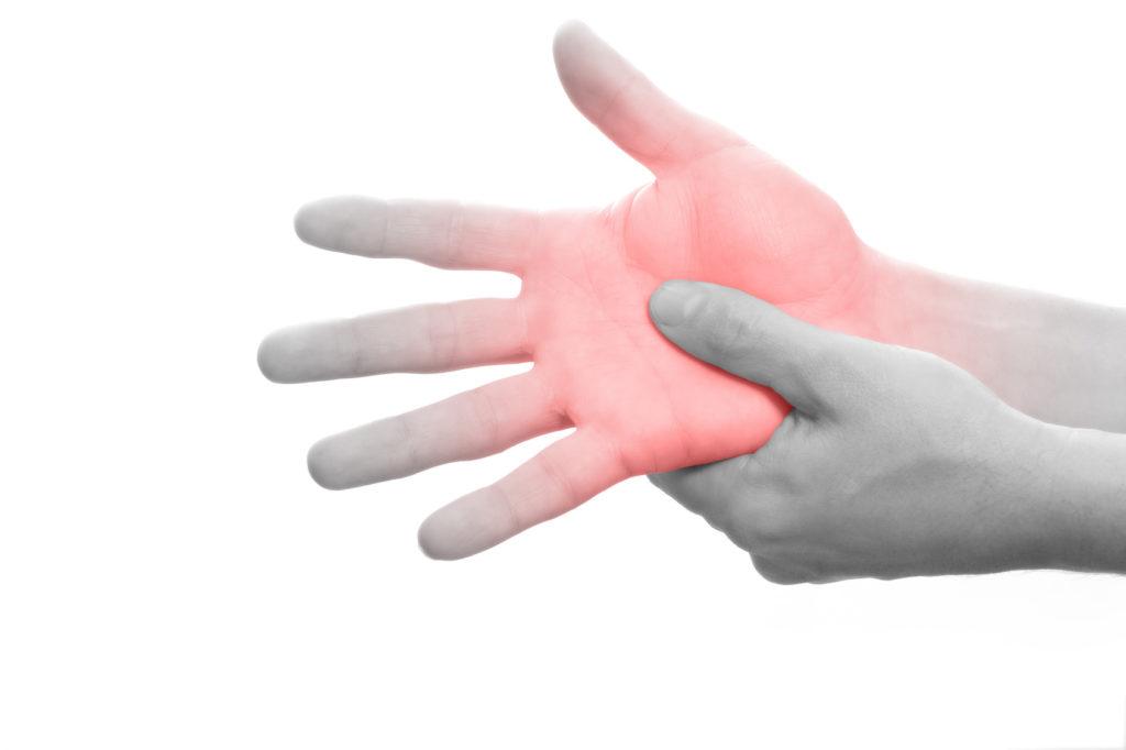 Handschmerzen: Schmerzen in der Hand