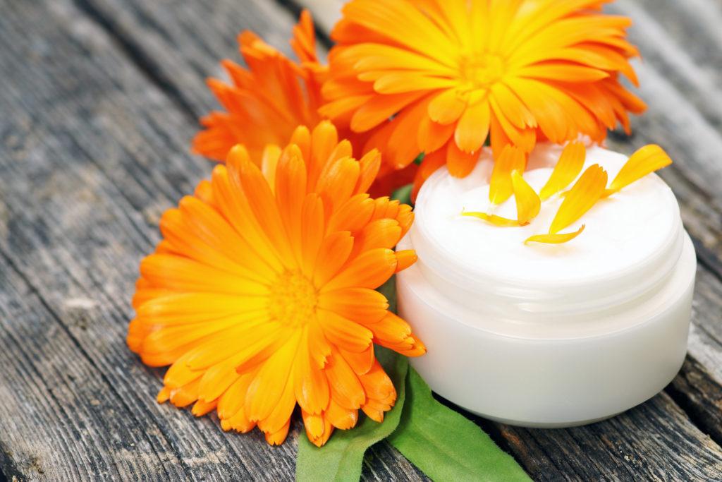 Ein bewährtes homöopathisches Mittel bei Hühneraugen ist Ringelblumen-Salbe. (Bild: Johanna Mühlbauer/fotolia.com)