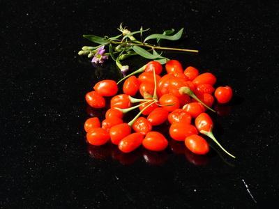 Goji-Beeren sind zwar gesund, aber offenbar nicht gesünder, als heimische Beeren.