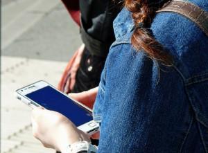 Warten-Smartphone
