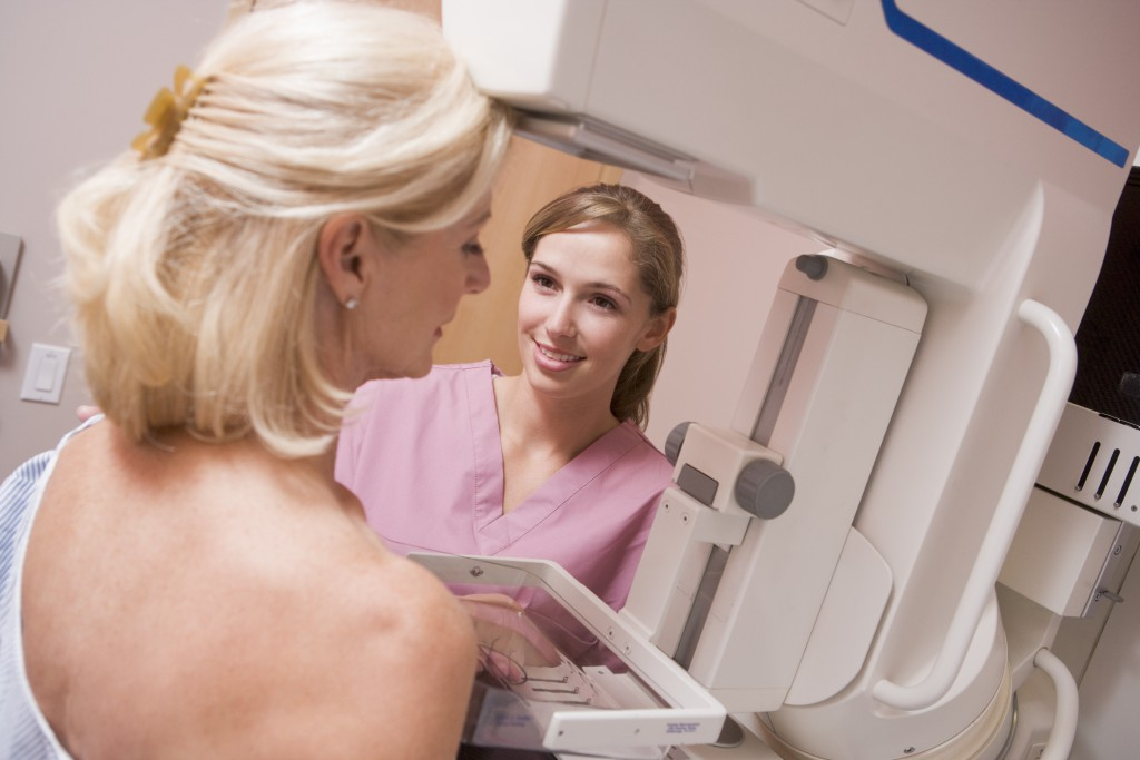 Brustkrebs-Vorsorgeuntersuchung