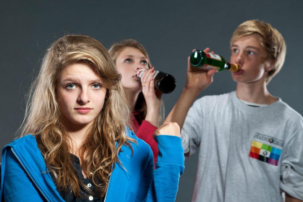 Die Tropfen lidewin vom Alkoholismus