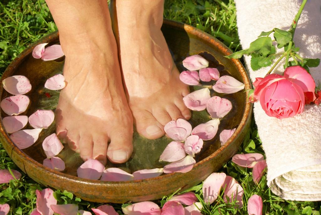 Ein Fußbad mit Eichenrinde kann Schweifüße nachhaltig lindern. (Bild: Johanna Mühlbauer - fotolia)