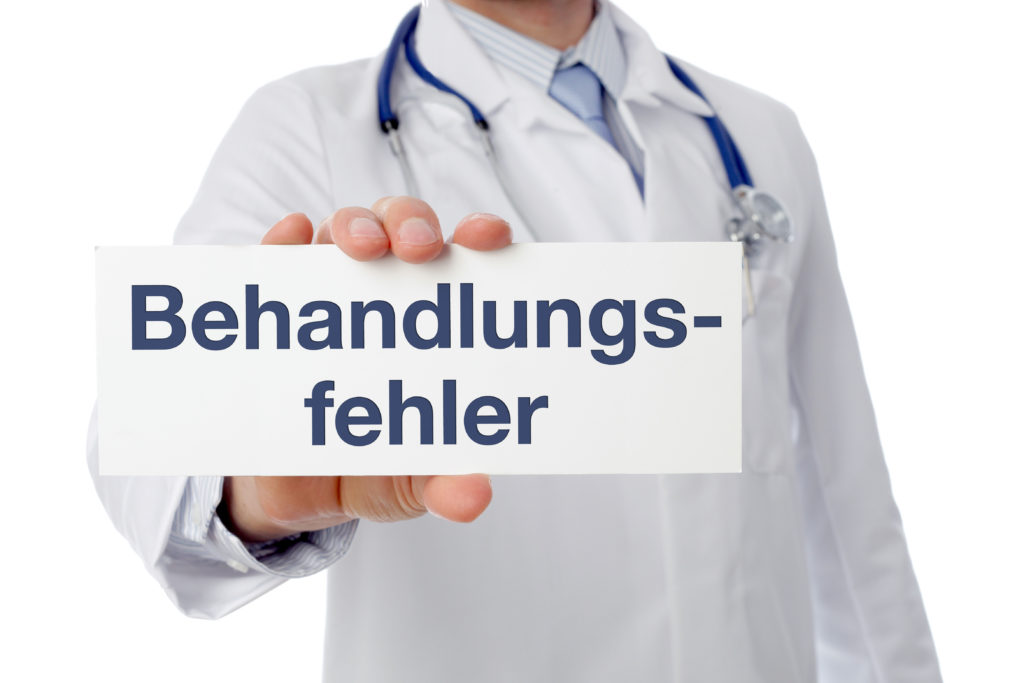 Bei Verdacht auf Behandlungsfehler haben die Patienten Anspruch auf ein kostenloses Gutachten (Bild: Coloures-pic/fotolia.com)