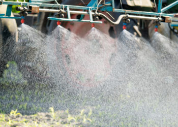 Glyphosat wird als Pflanzenschutzmiitel massenweise eingesetzt. Laut WHO ist es wahrscheinlich krebserregend. (Bild: countrypixel/fotolia.com)