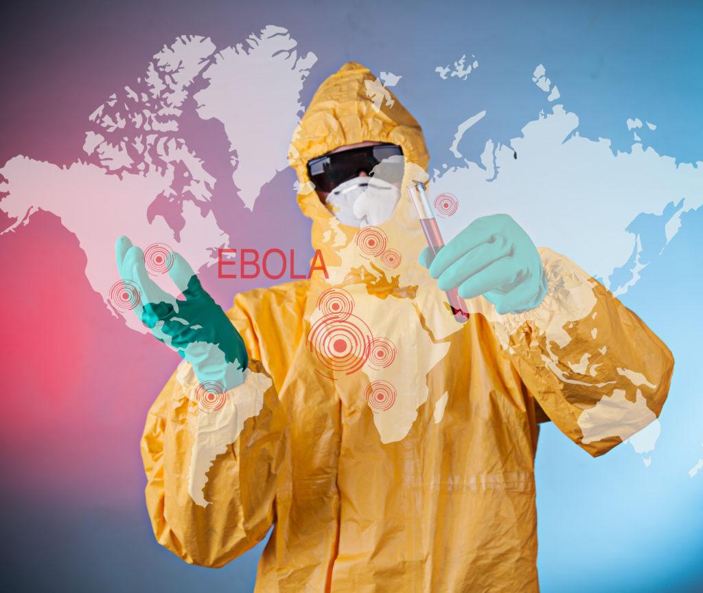Angst vor Ebola. Bild: Lukas Gojda - fotolia