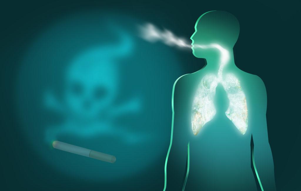 Passivrauchen erhöht signifikant das Schlaganfall-Risiko. Bild: crystaleyestudio - fotolia