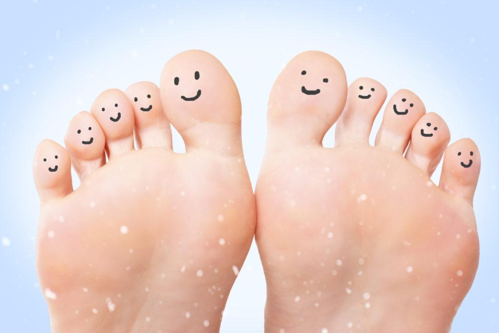 Die Unterscheidung von Berührungen der der Zehen fällt vielen schwer. (Bild: underdogstudios/fotolia.com)