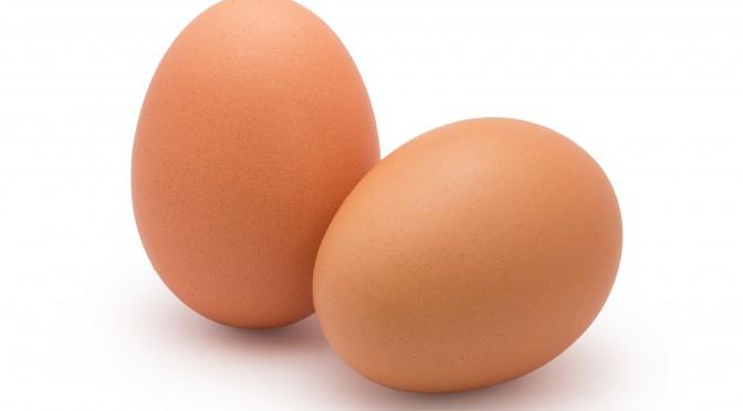 Zwei Hühnereier