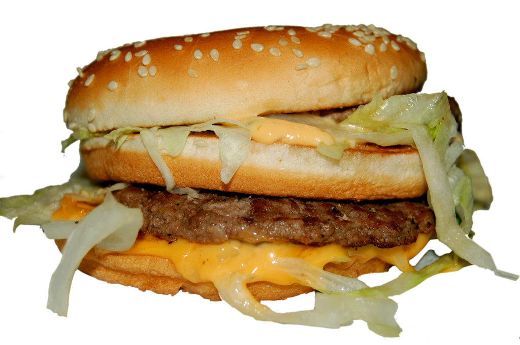 Der Körper benötigt drei Tage, um einen Big Mac zu verdauen. Bild: Dron - fotolia