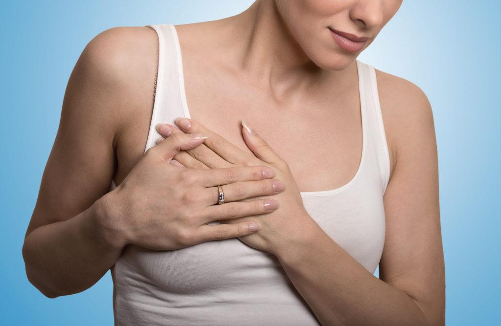 Wenn die Brust überempfindlich ist. Bild: pathdoc - fotolia