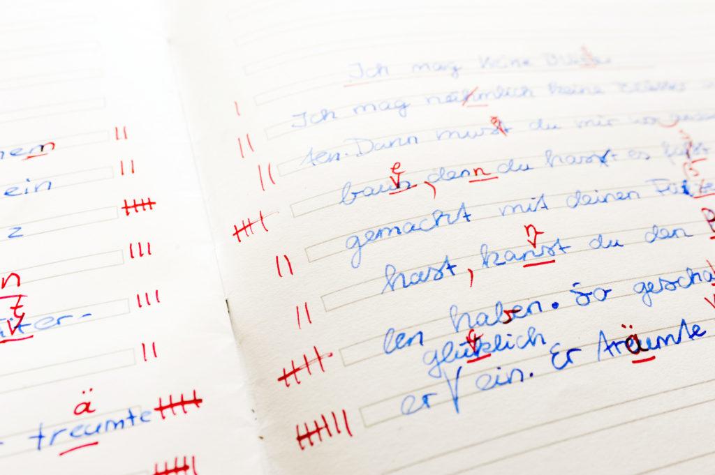 Frühe Förderung bei einer Lese-Rechtschreib-Schwäche wichtig. Bild:  photophonie - fotolia