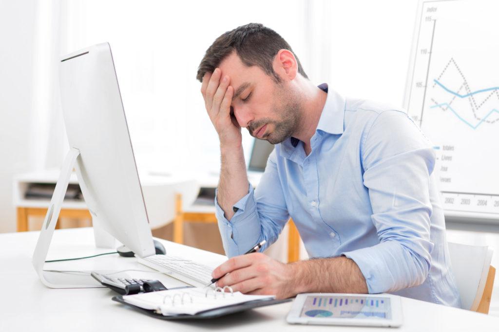 Spezielles Online-Training der Barmer GEK soll bei psychischen Problemen wie Stress oder Burnout helfen. (Bild: Production Perig/fotolia.com)