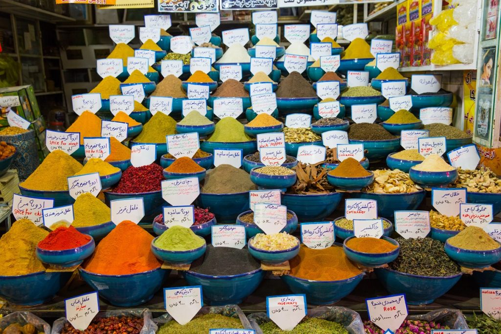 Typischer Bazar in Shiraz, Iran. Bild: Nicola Messana - fotolia