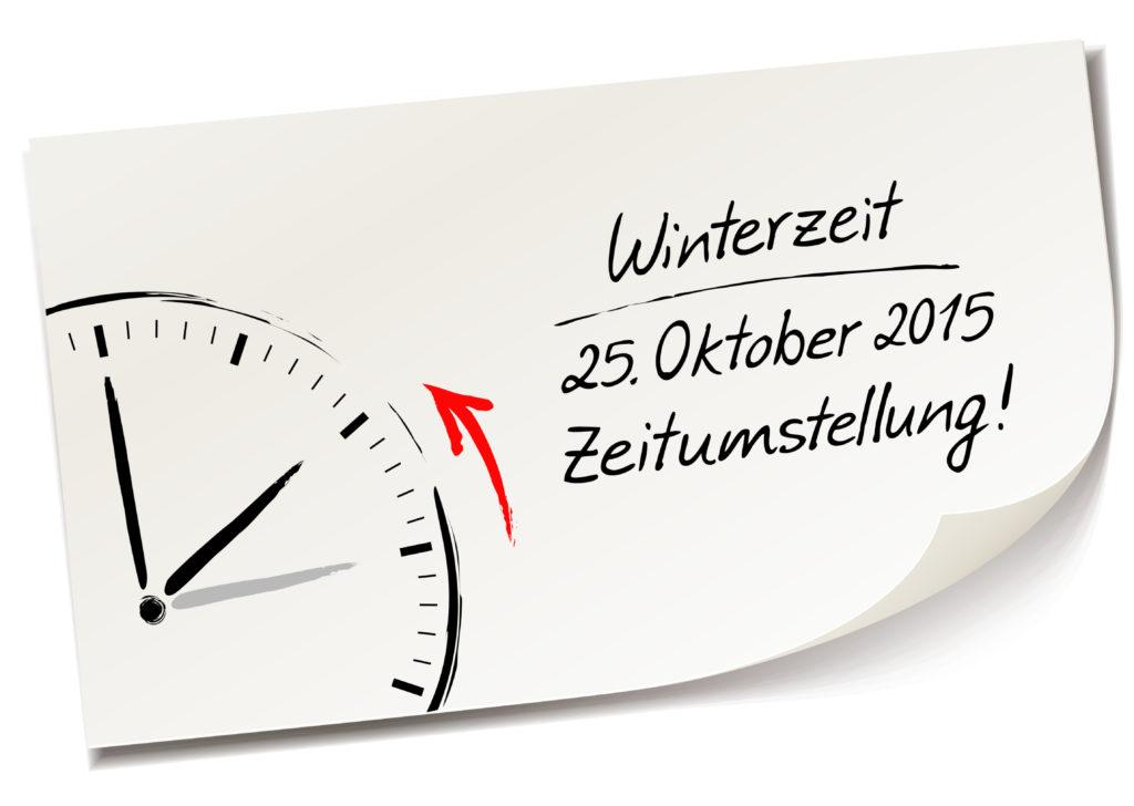 Am 25. Oktober wird die Uhr umgestellt. Bild: Artenauta - fotolia