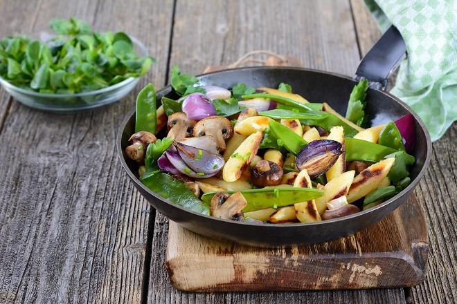 Steinzeit-Diät funktioniert auch Vegan und ist sehr viel gesünder! Bild: kab-vision - fotolia