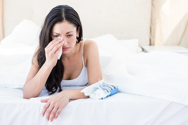 Warum Frauen im Bett weinen. Bild: WavebreakMediaMicro - fotolia