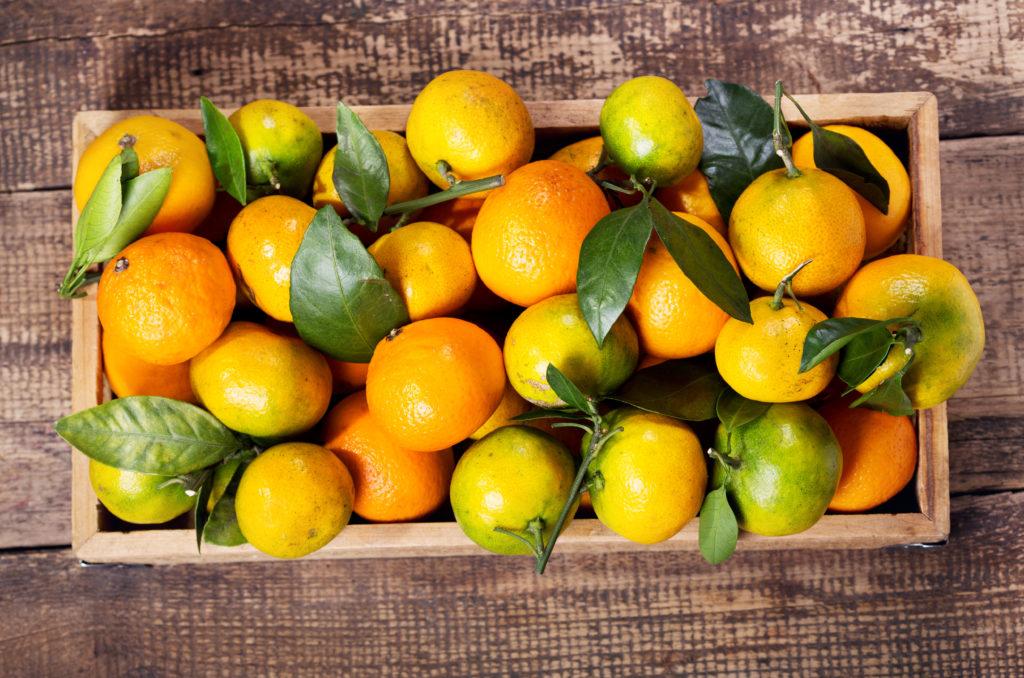So gesund sind Mandarinen. Bild: Nitr - fotolia