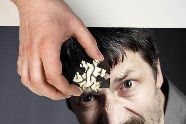 Erhöhte Reizbarkeit kann ein Zeichen für eine psychische Erkrankung sein. Möglich ist aber einfach nur zu viel negativer Stress. Bild: Ingo Bartussek - fotolia