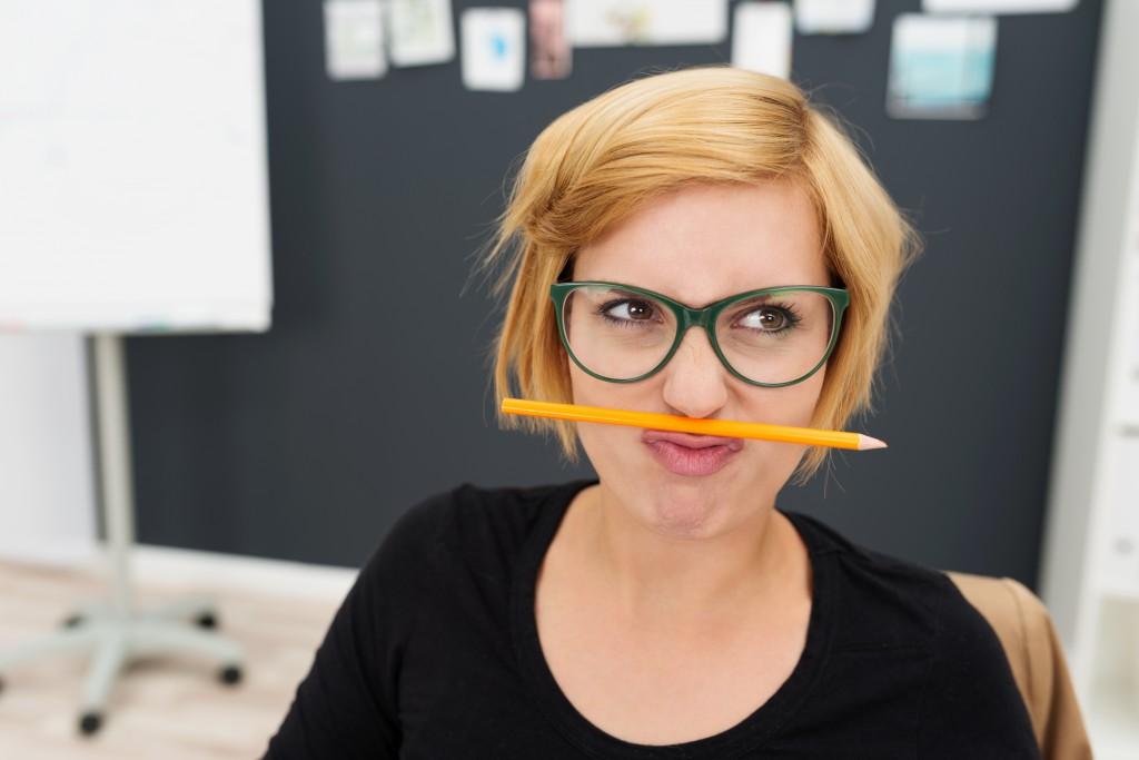 Was tun bei einer Schreibblockade? Bild: contrastwerkstatt - fotolia