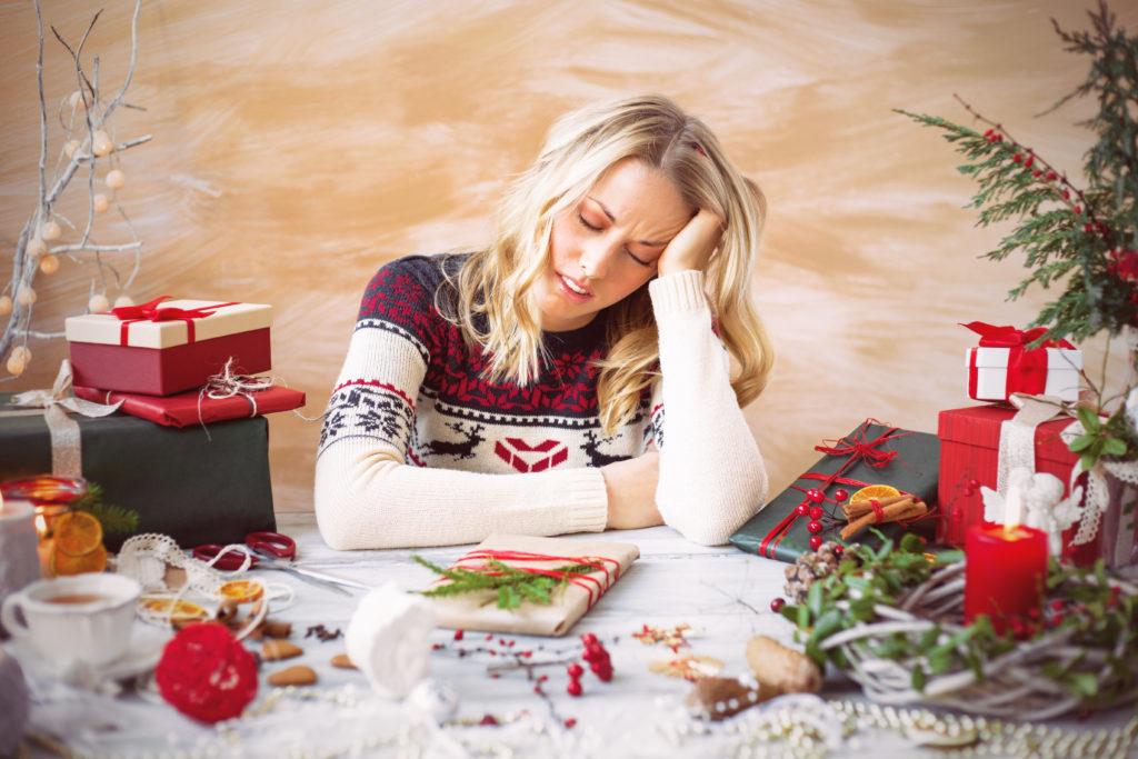 Weihnachten ist für viele Menschen mit Stress verbunden, der sich leicht vermeiden ließe. (Bild: Kaspars Grinvalds/fotolia.com)