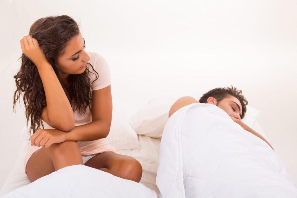 Nicht wenige Frauen weinen nach dem Beischlaf. Forscher haben dieses Phänomen genauer untersucht. Bild: Hugo Félix - fotolia
