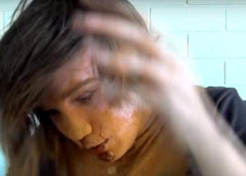Gefährliches Zimt-Spiel: Junge erstickte fast an Zimt. Bild: Youtube