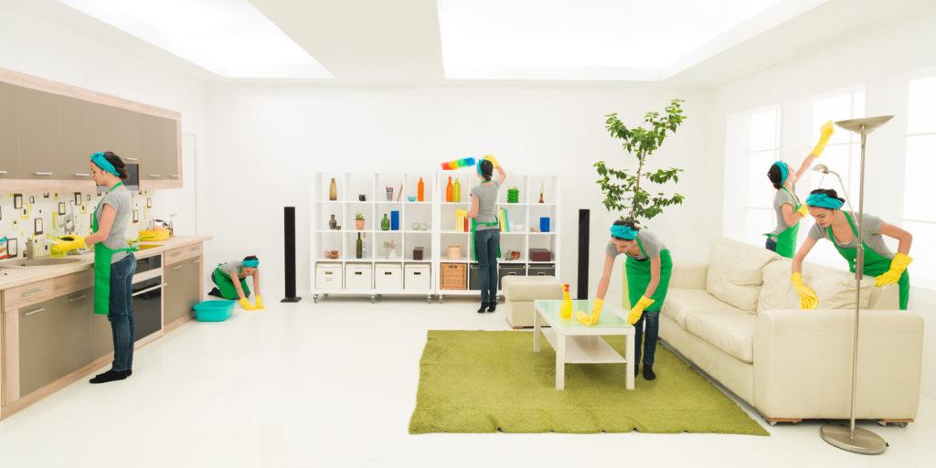 Auch die Hausarbeit kann zur Bewegung im Alltag genutzt werden. (Bild: shotsstudio/fotolia,com)