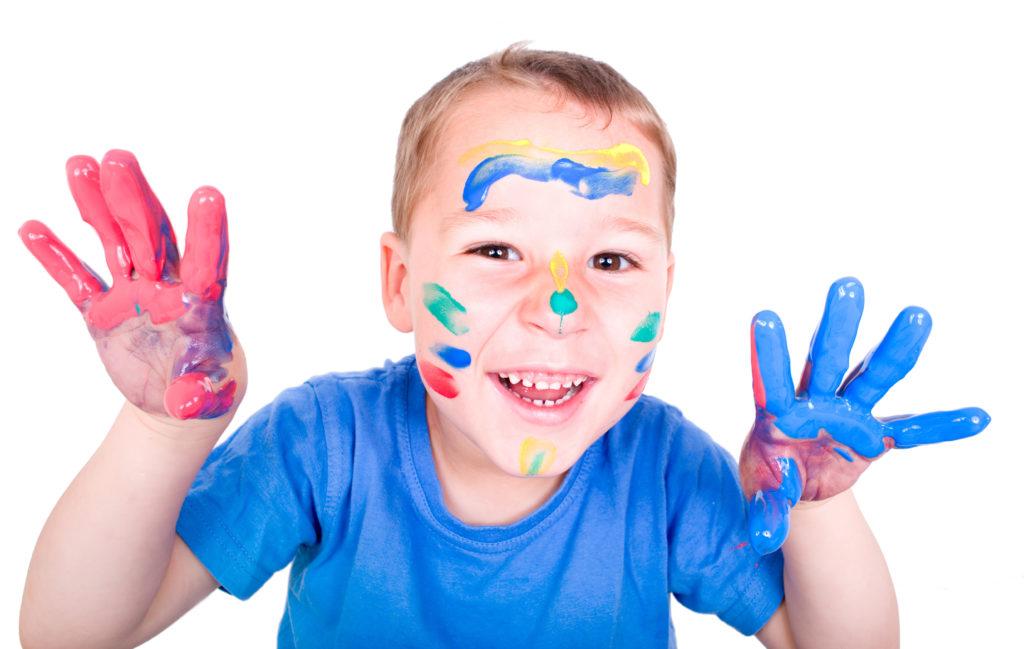 Fingerfarben mit kritischen Stoffen. Bild: st-fotograf - fotolia