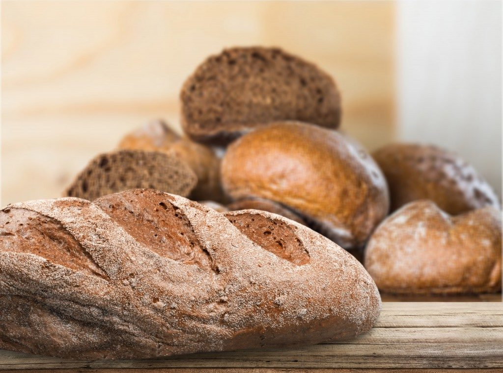 Verschiedene Brötchen und Brot