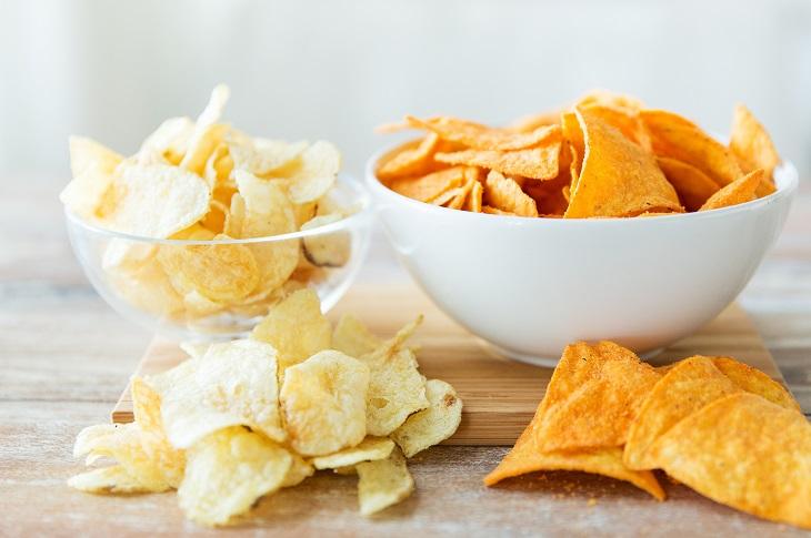 Kartoffelchips: So weniger Chips essen. Bild: Syda Productions - fotolia