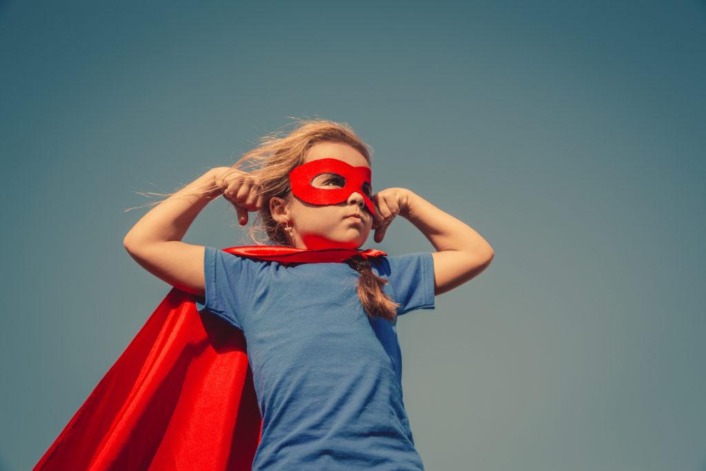 Superkräfte die tödlich sein können: Kleines Mädchen hat keinen Hunger und auch keine Schmerzen. Bild: yuryimaging - fotolia