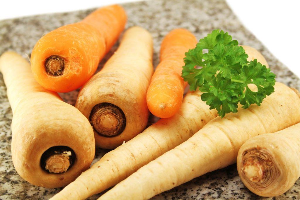 Winterliches Gemüse: Pastinake- gesund und lecker! Bild: Yantra - fotolia