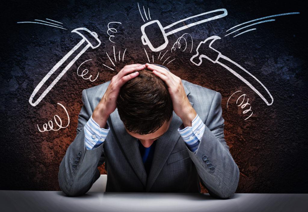 Schwindel kann auch eine psychische Ursache haben. Bild: Sergey Nivens - fotolia