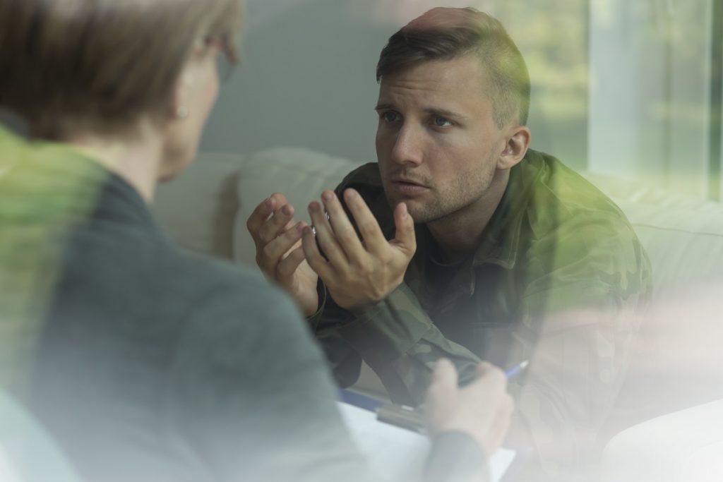 Trauma-Verarbeitung in der Psychotherapie. Bild: Photographee.eu - fotolia
