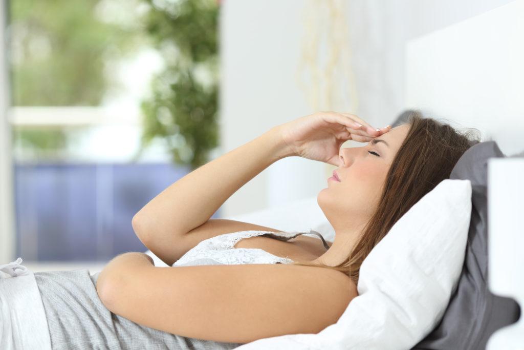 Zwischen Migräne und dem Reizdarmsyndrom scheint ein genetischer Zusammenhang zu bestehen. (BIld: Antonioguillem/fotolia.com)