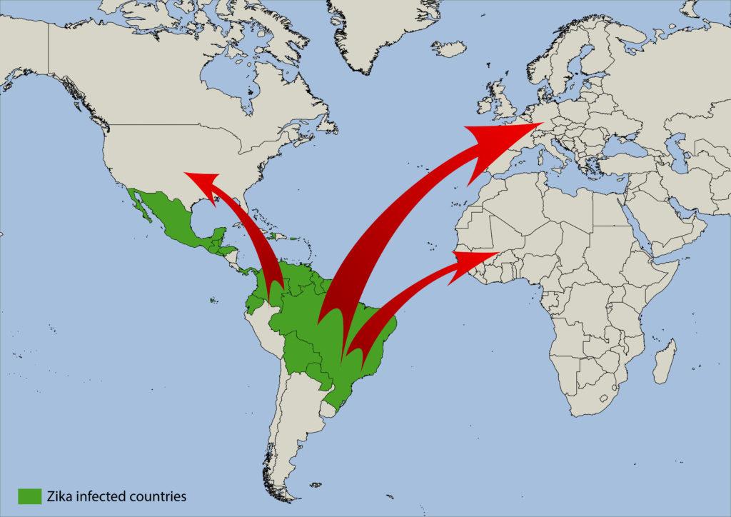 Die Infektionen mit dem Zika-Virus breiten sich von Südamerika zunehmende aus und auch in Deutschland wurden bereits 20 Fälle registriert. (Bild: photogoricki/fotolia.com)