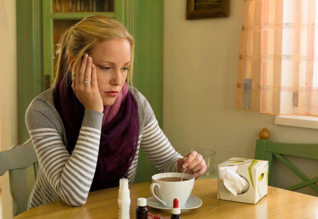 Ist es eine einfache Erkältung oder eine Grippe? Bild: Gina Sanders - fotolia