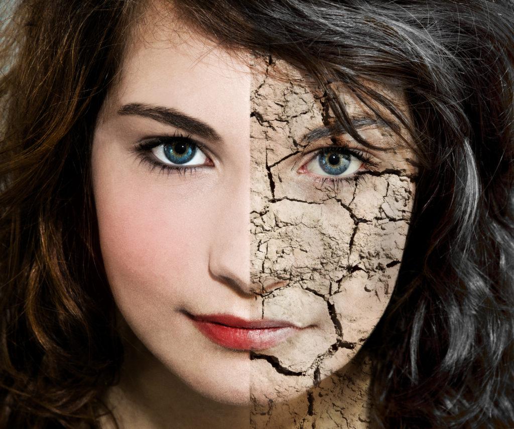Verantwortliches Enzym für Hautalterung gefunden. Bild: Jürgen Fälchle - fotolia