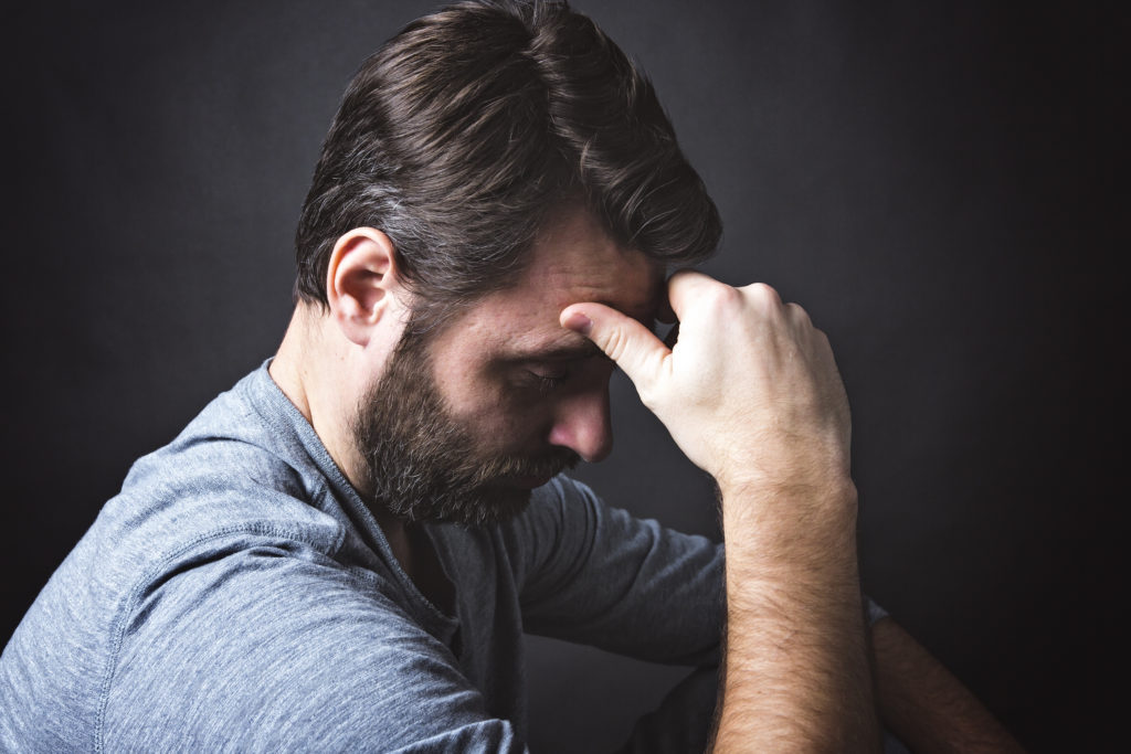 Macht zu wenig Testosteron traurig? Bild: pololia - fotolia